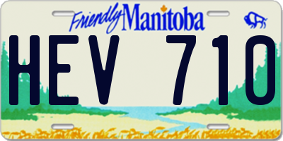MB license plate HEV710