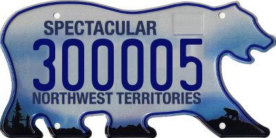 NT license plate 300005