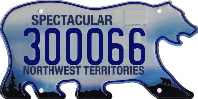 NT license plate 300066