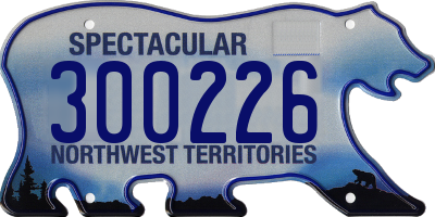 NT license plate 300226