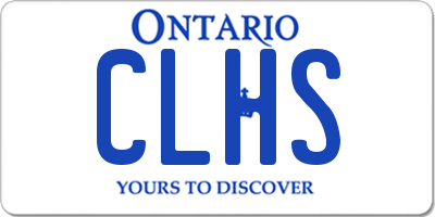 ON license plate CLHS